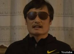 Chen guangcheng, escaped human rights activist