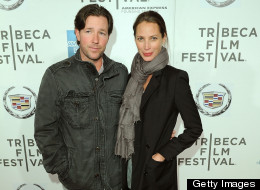 Edward Burns With Wife, Christy Turlington