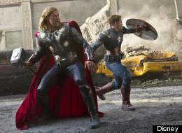 'The Avengers' breaks international box office records.
