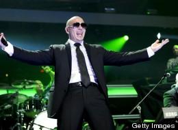 Pitbull en el Madison Square Garden en Nueva York en diciembre del 2011