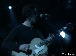 Jack White performs 'Seven Nation Army' at Webster Hall.