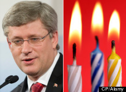Stephen Harper is 53 years old today. He became prime minister at age 46. (CP/Alamy)