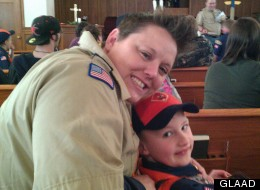 Jennifer Tyrrell was removed as den mother of her 7-year-old son's Tiger Scout troop because she is a lesbian.