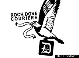 Rock Dove Couriers is keeping the bike messenger tradition alive in Detroit.