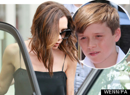Victoria Beckham with her latest accessory - baby Harper
