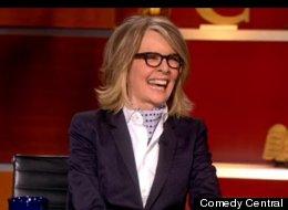 Diane Keaton appeared on