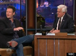 Blake Shelton discusses Christina Aguilera's breasts on