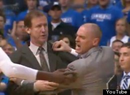 Rick Carlisle was ejected from Game 3 for arguing with the referee.