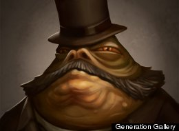 Jabba as you've never seen him before