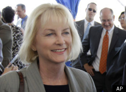 Then-Republican congressional candidate Sandy Adams (R-Fla.), now sponsor of the House VAWA bill, in Orlando, Fla.