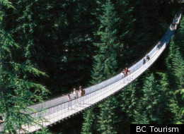 Capilano Suspension Bridge in British Columbia is worth a visit - but only if you don't mind heights.