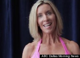 Sharon Simmons, 55-year-old grandmother of two, auditions for the Dallas Cowboys' cheerleading squad.