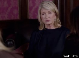 Martha Stewart guest stars on