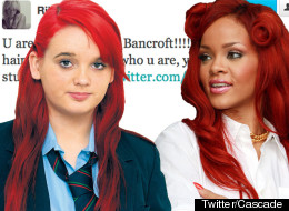 The red-haired rebel has Rihanna's support
