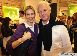 Chris Burch with Kelly Rutherford at the October 2011 opening of his C. Wonder store. (WireImage photo)