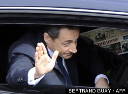 Nicolas Sarkozy le 8 mai 2012