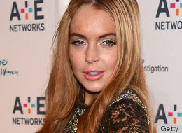 A recent Lindsay Lohan photo shows the starlet wearing a bit too much eyebrow makeup.