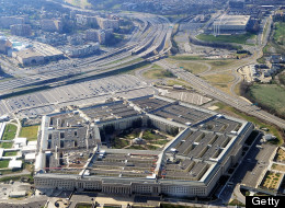 This picture taken 26 December 2011 shows the Pentagon building in Washington, DC. (STAFF/AFP/Getty Images)