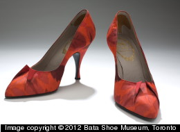 Visitors to the Bata Shoe Museum 'Roger Vivier: Process To Perfection' exhibit will see never before exhibited drawings by Vivier and pull-overs designed for Christian Dior which illuminate his working process