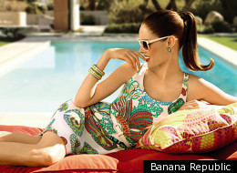 Trina Turk for Banana Republic is the perfect line to wear this summer.