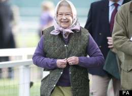 The Queen was out to see her horses perform at the Royal Windsor Horse Show