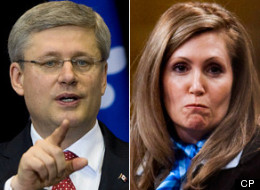 Prime Minister Stephen Harper filed a motion in court Friday to get Helena Guergis's