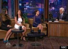 The Kardashians talk dirty to Jay Leno on