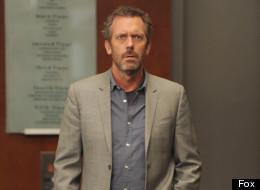 Hugh Laurie talks