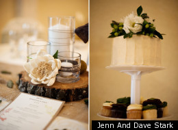 Mike & Jenn's Rustic, DIY Nuptials