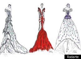 Rodarte has designed elaborate costumes for three characters in the LA Philharmonic's production of Mozart's opera,