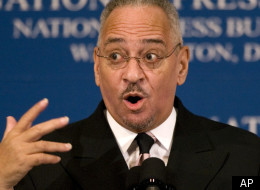 The Rev. Jeremiah Wright (seen here) was going to be the club with which to beat President Obama in a proposed ad campaign drafted for billionaire Joe Ricketts.