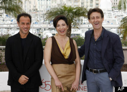 'Reality' Director Matteo Garrone, and Stars Loredana Simioli & Nando Paone