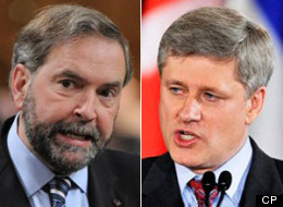 The Harper government has funded research that argues Canada's economy suffers from so-called Dutch Disease, an economic theory the prime minister and other senior officials ridiculed when raised recently by NDP Leader Tom Mulcair. (CP)