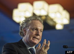 In the midst of a social crisis, Premier Jean Charest is replacing his most senior aide and bringing back a right-hand man with a reputation for steady competence: Daniel Gagnier. (AFP/ Myriam Lefebvre)