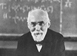 Hendrik Antoon Lorentz, who formulated the theory of the electron, shown in 1916.
