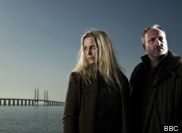 Sophia Helin and Kim Bodnia co-star in The Bridge, another Nordic Noir hit