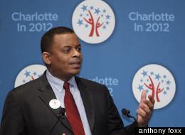 Charlotte Mayor Anthony Foxx