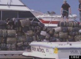 $3.6 million worth of marijuana was found floating off the coast of Dana Point Sunday.
