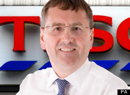 Tesco boss Philip Clarke