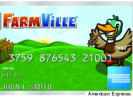 FarmVille players can earn Farm Cash with offline spending using American Express' new prepaid card.