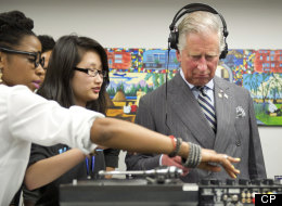 Prince Charles understands that focus is important to a successful DJ. (Paul Chiasson/CP)