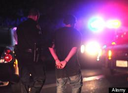 File photo of an arrest. (Alamy)