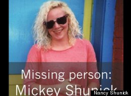 Mickey Shunick went missing four days ago during a late bike ride.