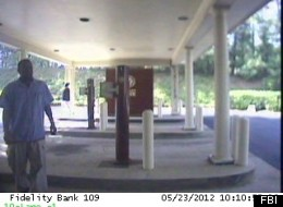 Photo of the arson suspect taken from a surveillance camera.