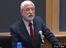 Judge Jed Rakoff, delivering a lecture at Dartmouth University above, is in the midst of a battle with the SEC over throwing out a settlement between the agency and Citigroup.