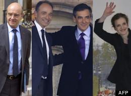 Alain Juppé, François Fillon, Jean-François Copé et Nathalie Kosciusko-Morizet