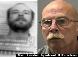 These photos from the South Carolina Department of Corrections show Armin Christian now and at the beginning of his sentence in 1980, before he escaped from a local prison.