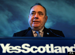 Alex Salmond launched the drive to support Scottish independence on Friday