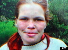 A German girl -- seen here in a recent photo acquired by AFP -- was allegedly held captive for 8 years.