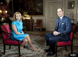 Katie Couric interviews Prince William